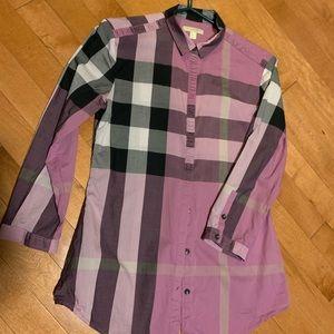 Burberry 3/4 length sleeve shirt